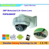 China Motorized Lens Dome Autofocus Digital Camera Onvif with Night Vision on sale
