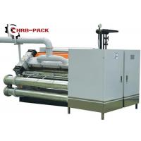Quality Heating Exchange Single Facer For Corrugated Cardboard Production Line for sale