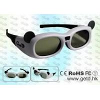 Quality Active 3D Shutter Glasses with 1,000:1 Contrast Ratio, 35g Weight and 120Hz Field Rate, Unsecured/U for sale