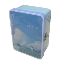 Quality Lockable Custom Tin Box For Christmas Gift Packing for sale
