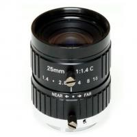 """Quality 2/3"""" 25mm F1.4 10Megapixel Manual IRIS C Mount Industrial FA Lens, 25mm 10MP Non Distortion Industrial Lens for sale"""