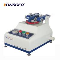 China ASTM D4060 Rubber Taber Abrasion Test Equipment With LCD Touch screen on sale