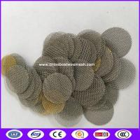 Quality Stainless Steel  Hookah Pipe Screen replace  Filters Mesh made in China for sale