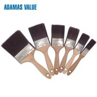 Quality Wooden Material Handle Industrial Paint Brushes  With Tin Plate Ferrule for sale