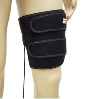 Quality Black 100μM Far Infrared Heating Pad For Leg Pain Relief for sale