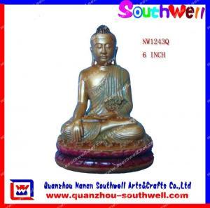 China Polyresin Buddha Figurines on sale