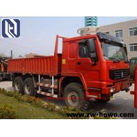 China 6 X 4 Log Carrier Heavy Equipment Trucks 40 TON  for transport SINOTRUK HOWO CHASSIS EuroIII on sale