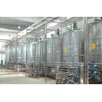 Quality Various Capacity CIP Cleaning System Low Noise For Juice / Milk Production Line for sale