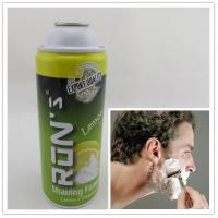 Quality Personal care 400ml shaving foam cream aerosol can for men for sale