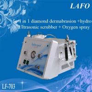 Quality 4 IN 1 diamond & Hydra facial dermabrasion & Oxygen spray &Ultrasonic skin scrubber for sale