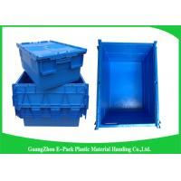 Buy Industrial 50kgs Security Plastic Attach Lid Containers / plastic storage bins with lids at wholesale prices
