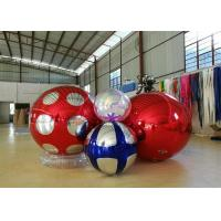 China Stage Customized Advertising Fireproof Inflatable Mirror Ball For Christmas Decoration on sale