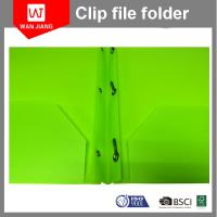 Buy cheap New design document file PP plastic 3 prong file folder with two pockets and from wholesalers