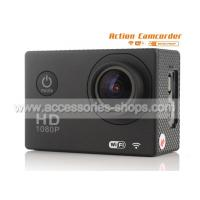 China Mini 12Megapixel HD 1080P Underwater 2.0inch WIFI Sports Camera Support 32G Card on sale