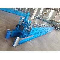 Quality Hydraulic Mold Cutting Gutter Roll Forming Machinery Main Power 4KW for sale