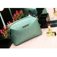 Quality PU Leather Material Promotional Toiletry Bag Flower Pattern Multi Color for sale