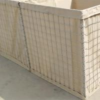 Quality Brown Color Hesco Bastion Or Army Defensive Hesco Wall With Galfan Wire for sale