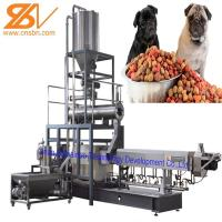 Quality Dog Food Manufacturing Equipment , Pet Extruder Machine SGS Certification for sale