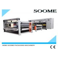 Quality 160 PCS / Min Computerized Slitter Scorer Maccardboard Slitting Machine With Stacker And Paper Collection for sale