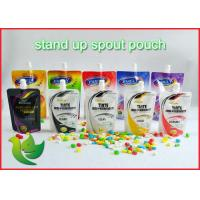 Buy Laundry Detergent Packaging Spout Pouch PA / PE Custom Printing at wholesale prices