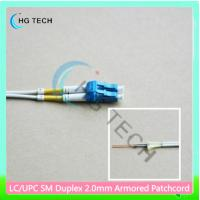 Quality Duplex LC/LC Armored Patch Cord Fiber Optic for sale