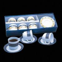 12-piece Tea Cup and Saucer Set, Over 800 Melamineware Items for Selection