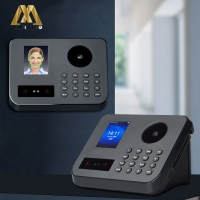 "Buy cheap FCC 2.4"" Facial Recognition Time Attendance With Palm Identify from wholesalers"