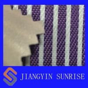 China Sofa Use Purple Nylon Oxford Fabric PVC Coated Polyester Fabric , ROHS on sale