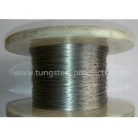 Buy cheap ASTM Standard Ground Finish Pure Tungsten Wire Wolfram Wire 0.01mm - 3.0mm from wholesalers