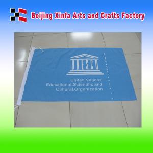 China Single Side Digital Printing Company Flag on sale