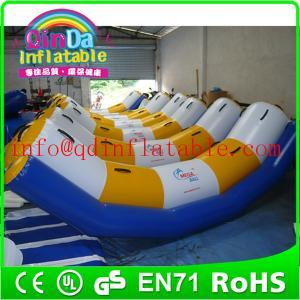 Guangzhou QinDa inflatable water park water inflatable seesaw water teeterboard