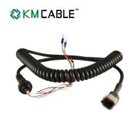 Quality Shielded Electrical Spiral Flexible Cable Coiled Extension Gen 5 Coil Cord 144065 Control Box Wire for sale