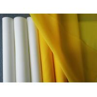 China 110 Microns Polyester Printing Mesh , Durable Monofilament Polyester Mesh on sale