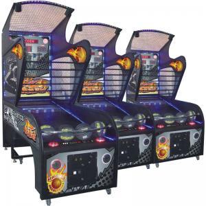 Quality Fun Arcade Basketball Game Machine , Indoor Basketball Arcade Machines With Flash Light Tube for sale