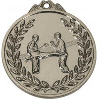 Quality Nickel plated round zinc alloy medal for sale