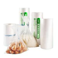 China Transparent Flat Poly Bags Shock Resistance Gravure Printing For Food Packing on sale