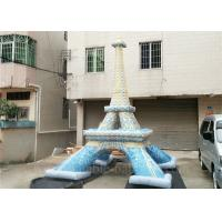 Quality Commercial Mini Inflatable Eiffel Tower Customized Lead Free Inflatable Replica for sale