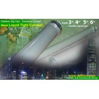 DELIKON BIG diameter METAL LIQUID TIGHT CONDUIT,  conduit fittings for commercial and industry wiring