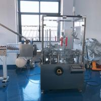 Quality Pharmaceutical Horizontal Typed Automatic Cartoning Machine User - Friendly Operation for sale