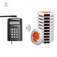 China Chinese new and hot sell wireless customer coaster pager system for buffet and coffee shop on sale