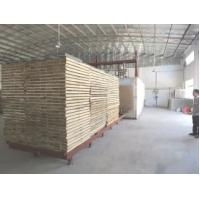 Quality Stable Thermo Treated Lumber , 80000 Kcal / H Heat Treating Wood In Oven for sale