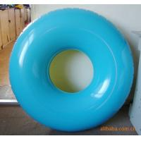 China Blue Adults Infant Inflatable Swim Ring , Inflatable Pool Toys for Kids on sale
