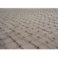 Quality Slope Security Wire Mesh Flexible Metal Mesh Net Protection System for sale