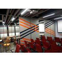 Buy cheap Multi - Function Movable Partition Walls For Home Soundproof Fabric 88mm from wholesalers