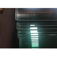 Quality Bend / Curved Tempered Safety Glass For Curtain Wall , Toughened Safety Glass for sale