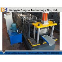 China Customized Half Round Gutter Roll Forming Machine For Making Rainwater Gutter on sale