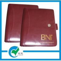 Quality PU Leather Hardcover Custom Printed Notebook Notepad With Iron Spiral Printing for sale
