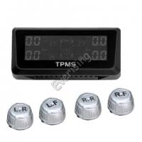 Solar Car TPMS Kit Tyre Pressure Monitoring TPMS Sensor Air Pressure Tires
