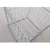 Quality Security Military Gabion Box Military Hesco Barriers With Many Colors Filled By Sand for sale