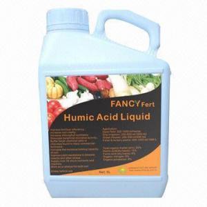 Quality Organic liquid fertilizer with humic acid and fulvic acid for sale